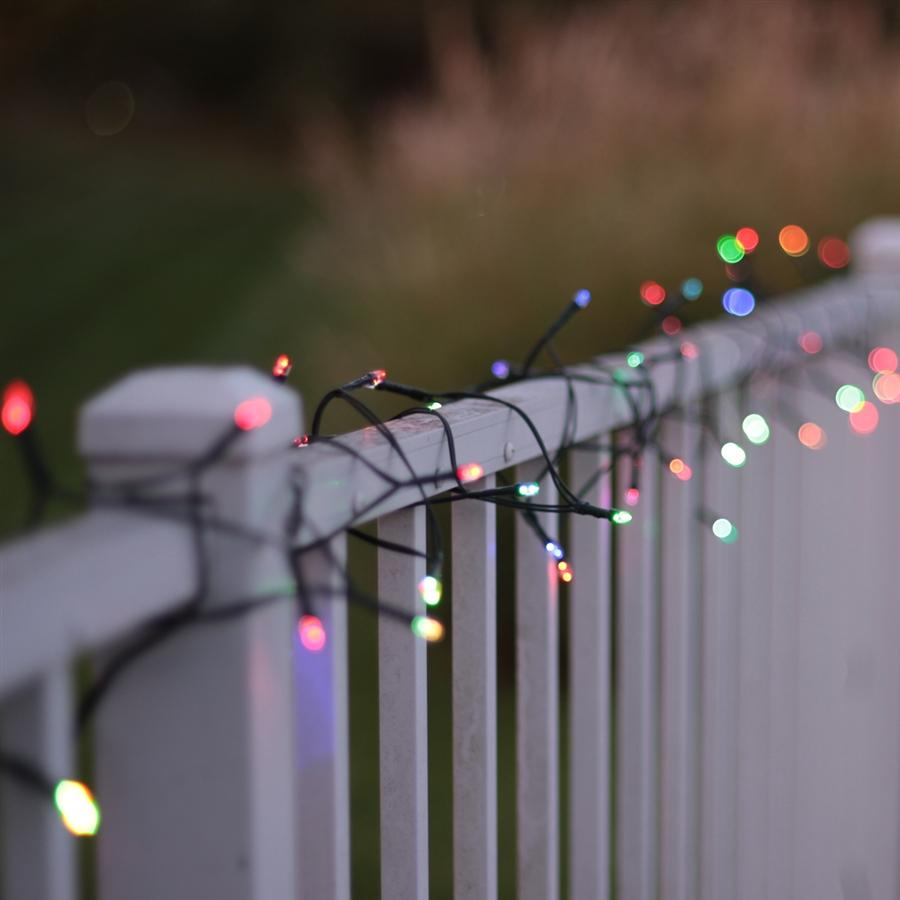 Beau 50 LED Bulb Color Changing Solar String Lights | 22 Ft.